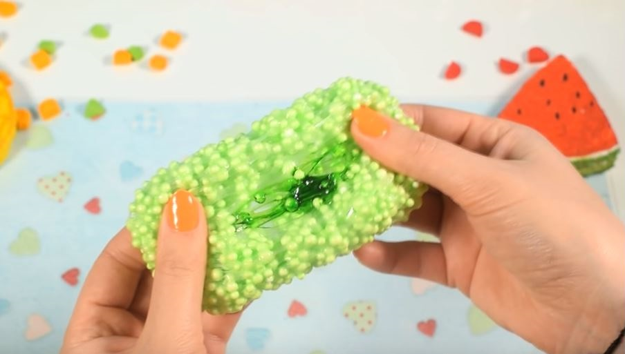 Залипательное видео как сделать слайм