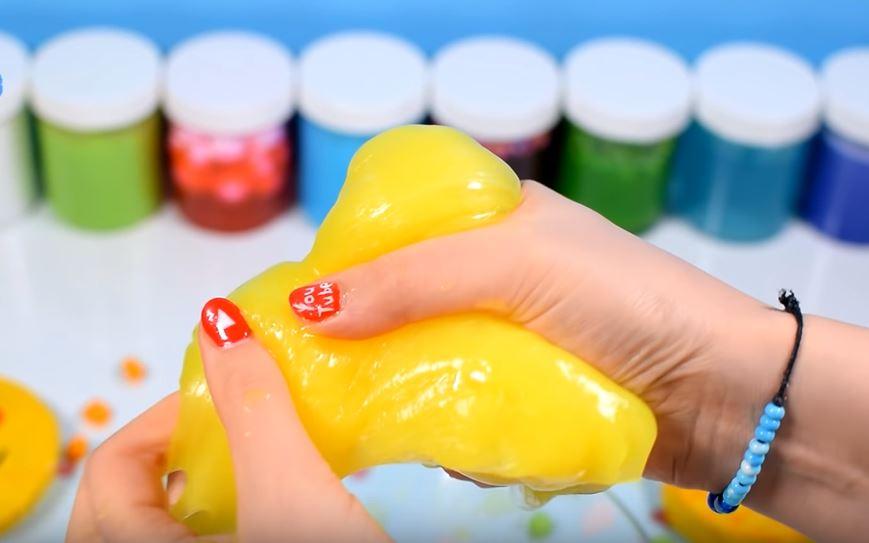 Как сделать слайм из зубной пасты без клея